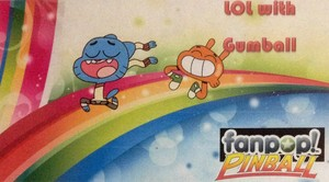 The Amazing World of Gumball Pinball Ad