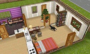 The sims 3 - New 年 house