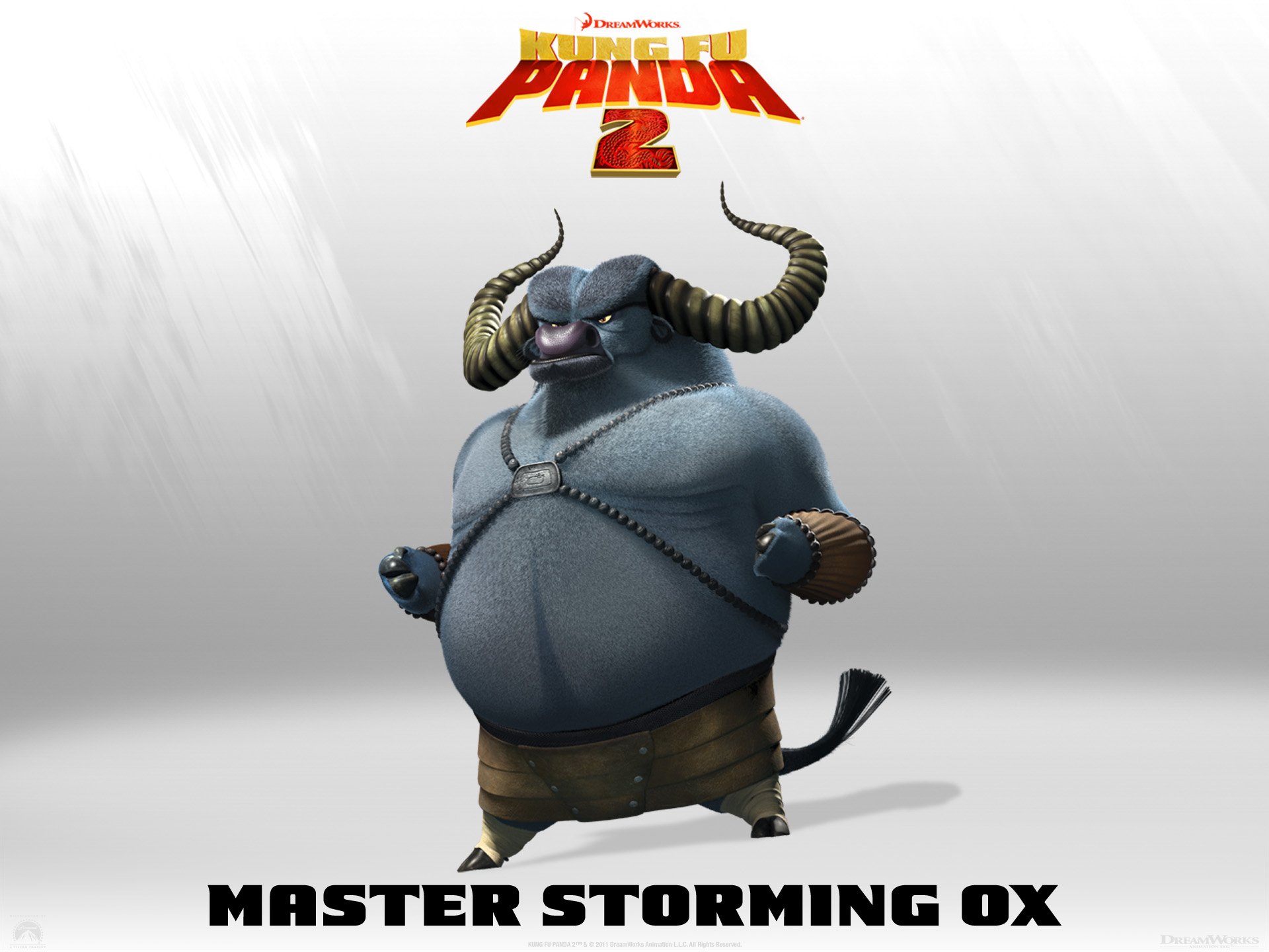 Master storming ox