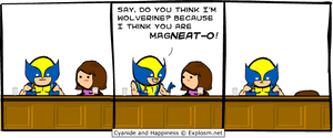 Cyanide and Happiness X-men edition
