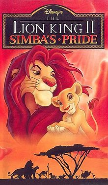 """Lion King II: Simba's Pride"" On tahanan videocassette"