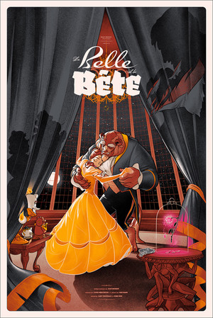 Beauty and the Beast 의해 Martin Ansin - Variant