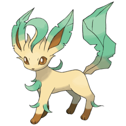 Leafeon, the verdant pokemon