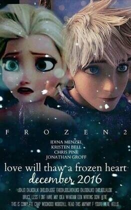 Frozen 2: Fan-Made Poster