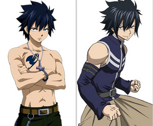 Fairy Tail characters: New anime design.