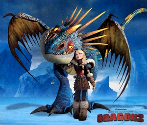 How To Train Your Dragon 2 Astrid and Stormfly Puzzle