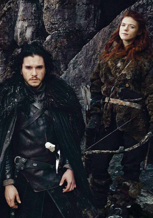 Jon Snow and Ygritte (Season 4)