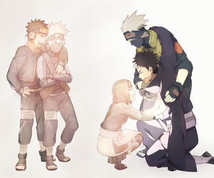 Kakashi Hatake, Obito and Rin