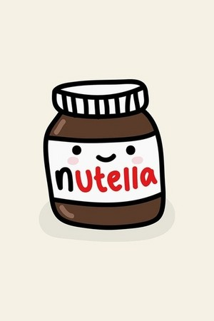 nutella kawaii-----------♥