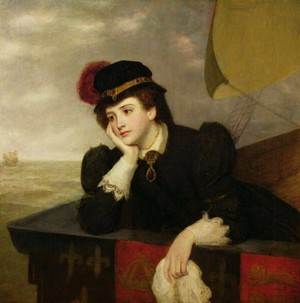 William Powell Frith - Mary Stuart Returning from France