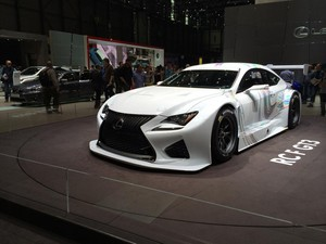 Lexus at the Autosaloon in Geneve