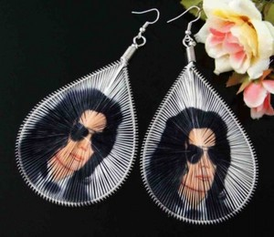 Michael Jackson Earrings