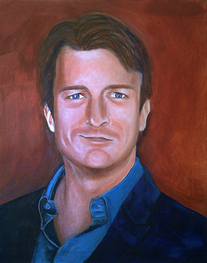Nathan Fillion Portrait