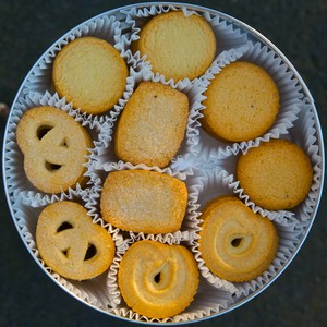 mantequilla cookies-------♥