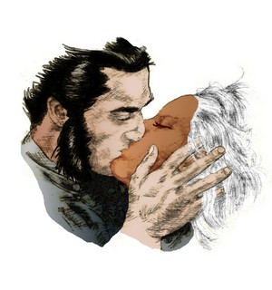 Storm and Wolverine fanart