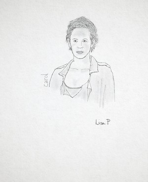 Carol Peletier / drawn oleh me