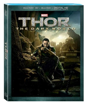 Thor: The Dark World Blu-ray DVD Cover