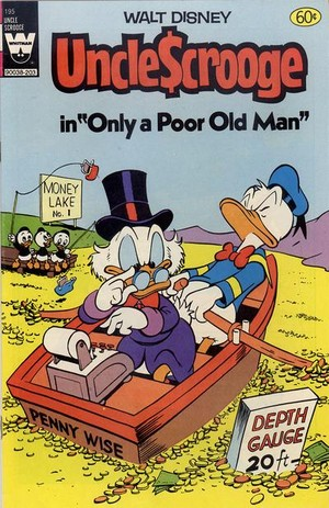 Carl Barks Comic Book Cover