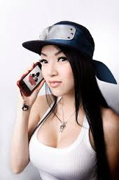 VampyBitMe wife beater cleavage and phone