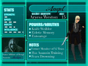 Aryess Profile Card