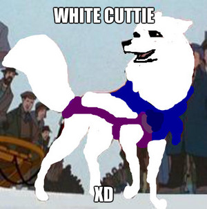 white cuttie