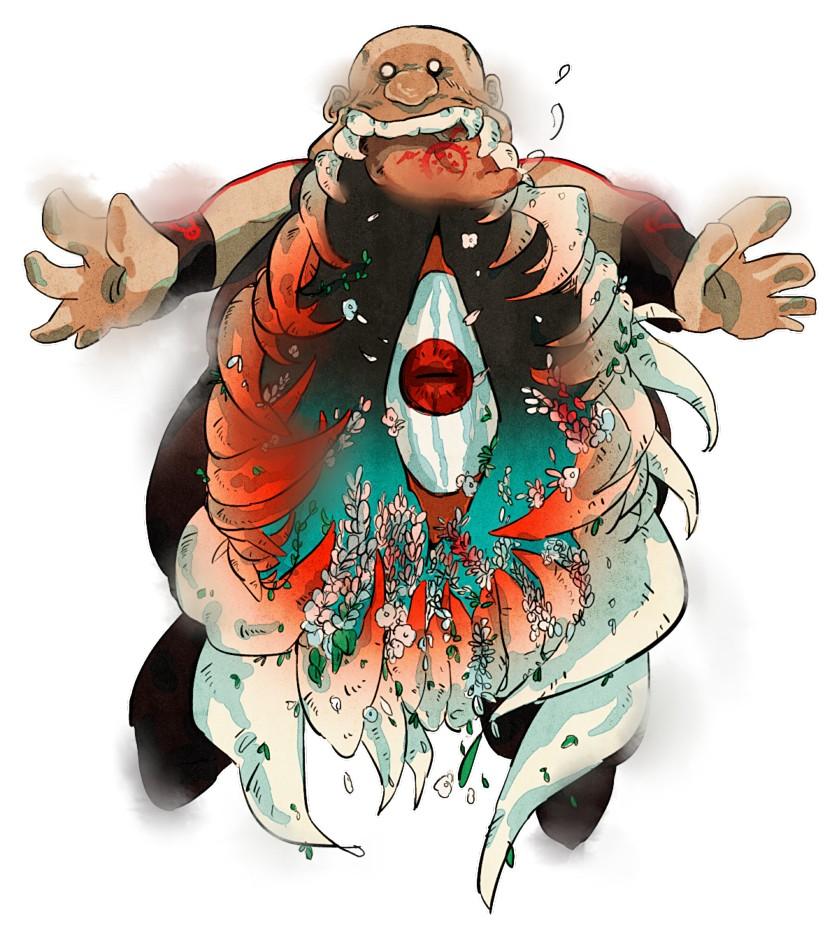 *Gluttony (FMA)* - Fullmetal Alchemist: Brotherhood - Anime Fan Art (36841474) - Fanpop