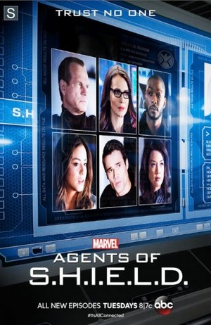 Agents of S.H.I.E.L.D - Trust No One Poster