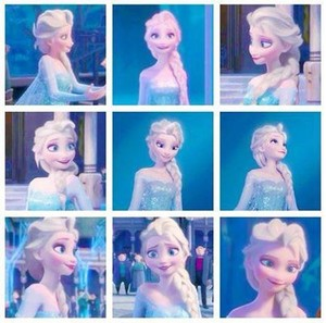 Elsa is so beautiful