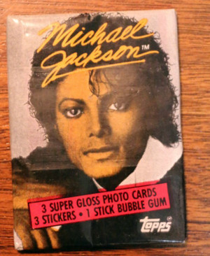 Michael Jackson Trading Cards