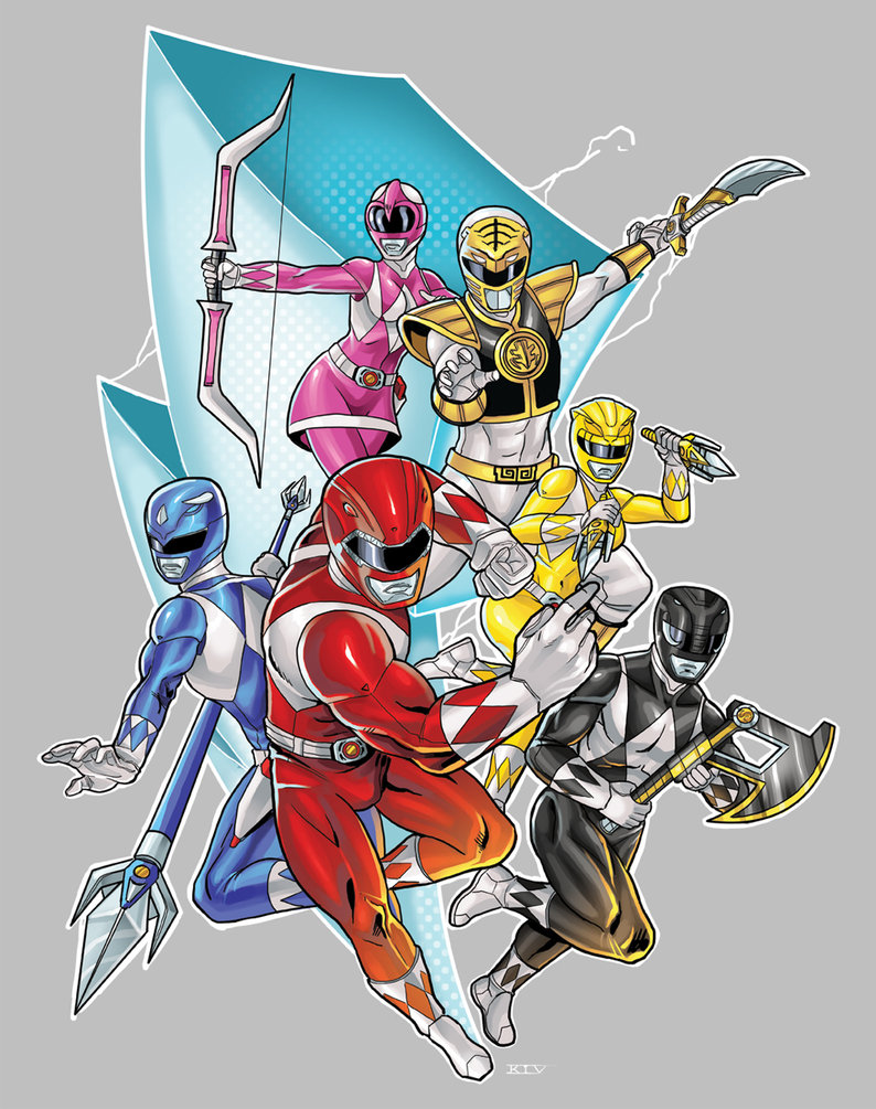 Mighty Morphin Power Rangers The Power Ranger Fan Art 36870064