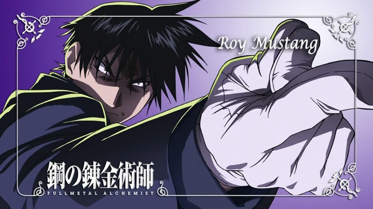 Roy Mustang - Fullmetal Alchemist: Brotherhood - Anime Photo (36846068) - Fanpop