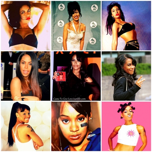 Selena ♥ Aaliyah ♥ Left Eye