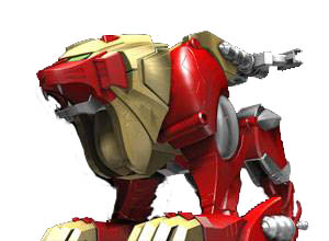 Red Lion Zord