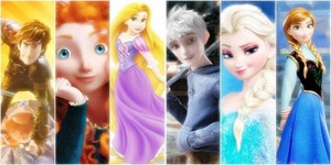 The Super Six (Rise Of The Frozen Brave Tangled Dragons)