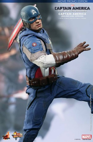 Captain America: The Winter Soldier 'Golden Age' - Collectible Figure