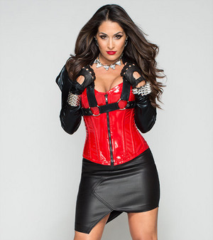 Bella Twins as Legion of Doom (Nikki)