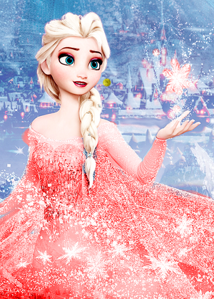 Elsa recoloured