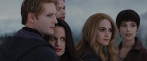 Esme with the Cullen's