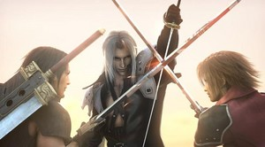 Sephiroth VS Angeal and Genesis