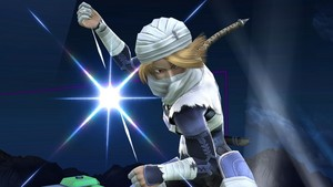 Sheik in Super Smash Bros. 4