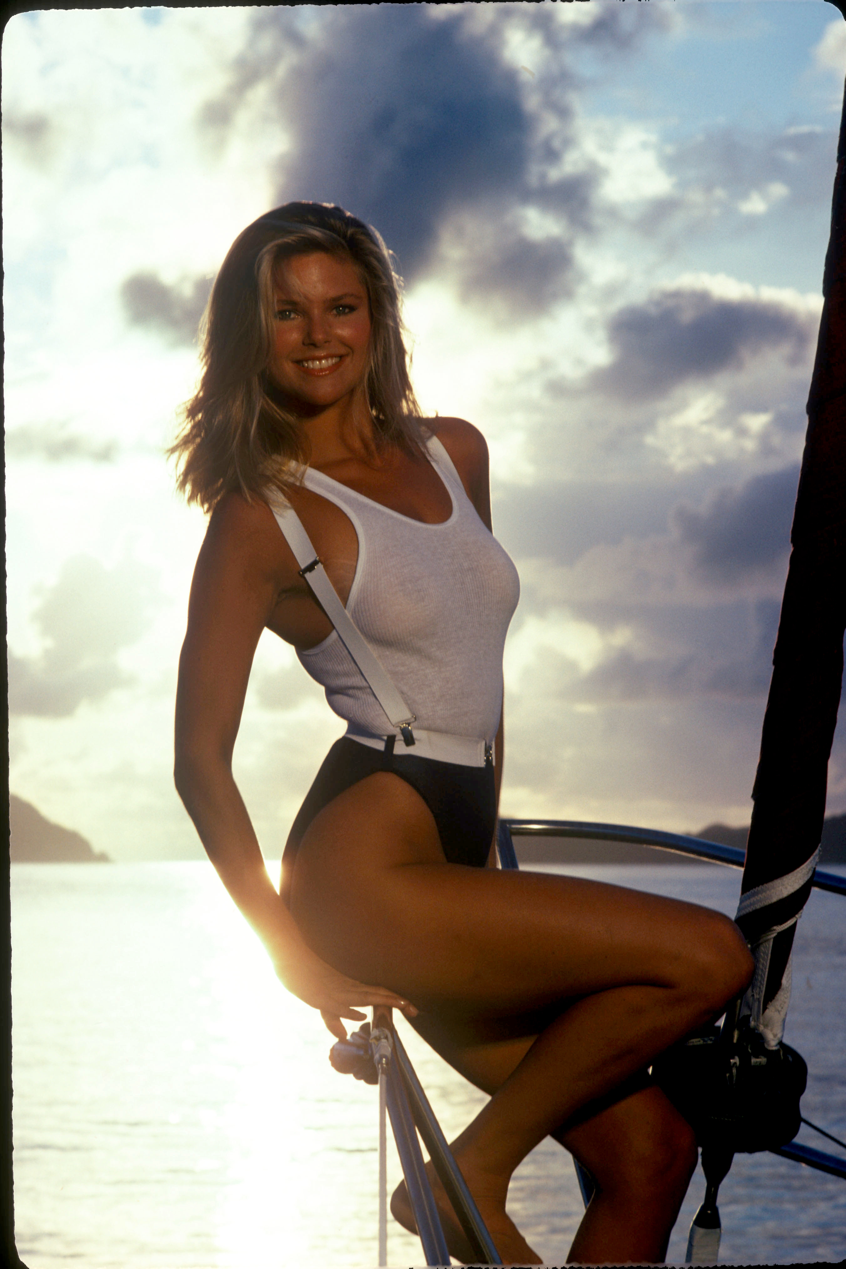 Christie Brinkley Poses for Sports Illustrated With