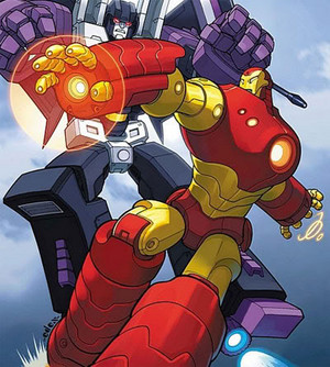 Starscream vs ironman