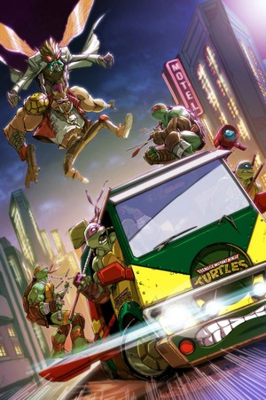 Teenage Mutant Ninja Turtles Art by Eddie Nunez