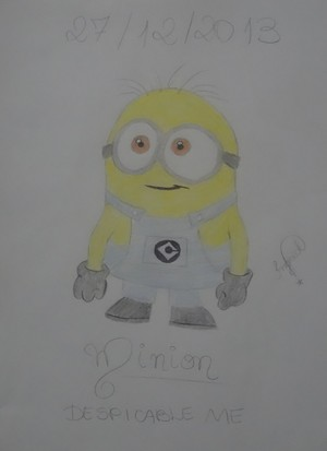 ☆ My Drawing! [Minion from Despicable Me] ☆
