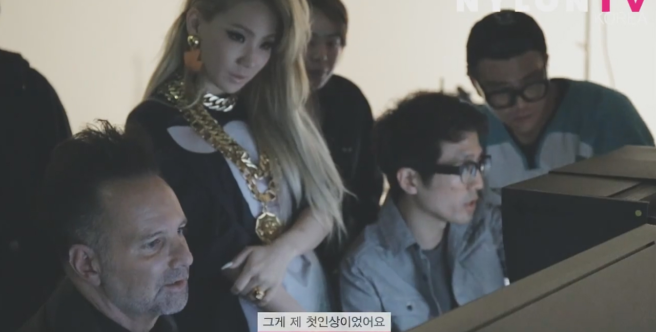 CL FOR NYLON KOREA