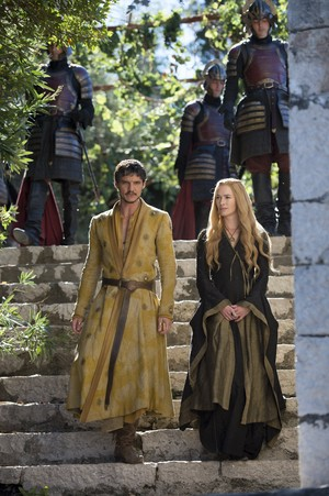 Cersei Lannister and Oberyn Martell Season 4