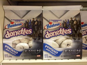 Hostess donettes X-men