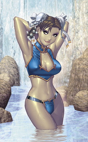 Pin Up Chun Li