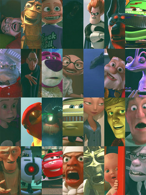 Pixar Villains