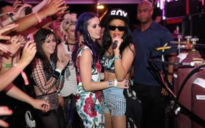 Rihanna and Katy Perry Coachella 2012